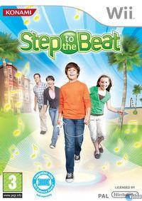 Portada oficial de Step to the Beat para Wii