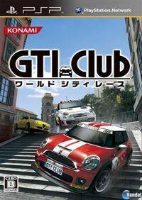 Portada oficial de GTI Club Supermini Festa! para PSP