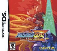 Portada oficial de Mega Man Zero Collection para NDS