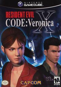 Portada oficial de Resident Evil Code Veronica para GameCube