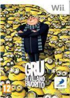 Portada oficial de Gru, mi villano favorito: El videojuego para Wii