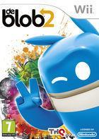 Portada oficial de de Blob 2 para Wii