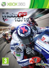 Portada oficial de MotoGP 10/11 para Xbox 360