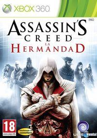 Portada oficial de Assassin's Creed: La Hermandad para Xbox 360