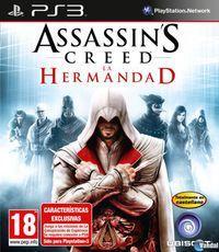 Portada oficial de Assassin's Creed: La Hermandad para PS3