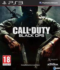 Portada oficial de Call of Duty: Black Ops para PS3