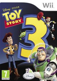 Portada oficial de Toy Story 3 para Wii