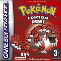 Portada oficial de Pokémon Rubí & Zafiro para Game Boy Advance