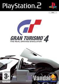 Portada oficial de Gran Turismo 4 para PS2