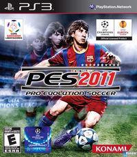 Portada oficial de Pro Evolution Soccer 2011 para PS3
