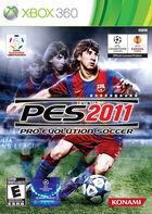 Portada oficial de Pro Evolution Soccer 2011 para Xbox 360