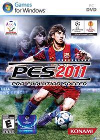 Portada oficial de Pro Evolution Soccer 2011 para PC