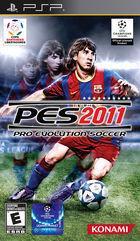 Portada oficial de Pro Evolution Soccer 2011 para PSP