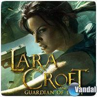 Portada oficial de Lara Croft and the Guardian of Light PSN para PS3