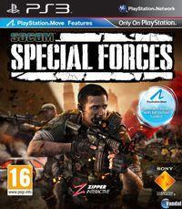 Portada oficial de SOCOM: Special Forces para PS3