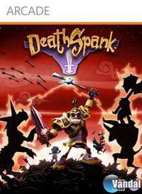 Portada oficial de DeathSpank XBLA para Xbox 360