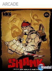 Portada oficial de Shank XBLA para Xbox 360