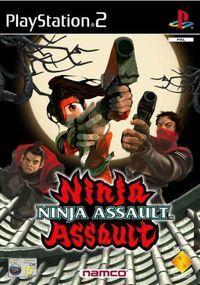 Portada oficial de Ninja Assault para PS2