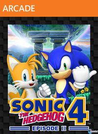 Portada oficial de Sonic the Hedgehog 4: Episode II XBLA para Xbox 360