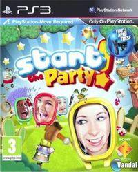 Portada oficial de Start the Party para PS3