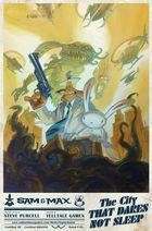 Portada oficial de Sam & Max: The Devil's Playhouse - Episode 5: The City that Dares Not Sleep para PC
