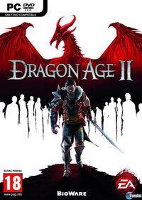 Portada oficial de Dragon Age II para PC