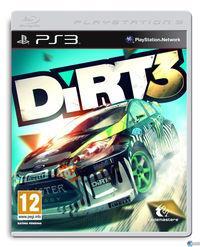 Portada oficial de DiRT 3 para PS3