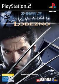 Portada oficial de X-Men: La Venganza de Lobezno para PS2