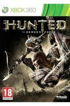 Portada oficial de Hunted: The Demon's Forge para Xbox 360
