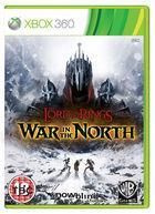 Portada oficial de El Señor de los Anillos: La Guerra del Norte para Xbox 360