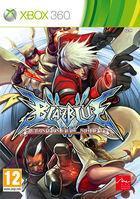 Portada oficial de BlazBlue: Continuum Shift para Xbox 360