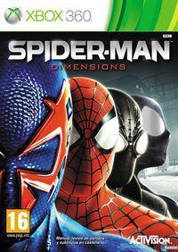 Portada oficial de Spider-Man: Shattered Dimensions para Xbox 360