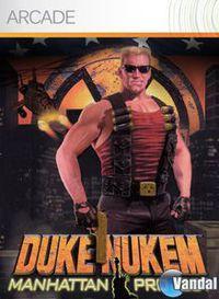 Portada oficial de Duke Nukem: Manhattan Project XBLA para Xbox 360