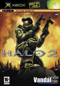 Portada oficial de Halo 2 para Xbox