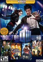 Portada oficial de Doctor Who: The Adventure Games para PC
