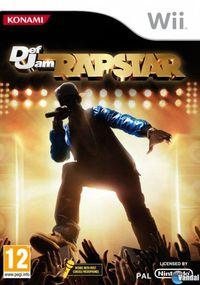 Portada oficial de Def Jam Rapstar para Wii