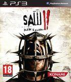 Portada oficial de Saw II: Flesh & Blood para PS3