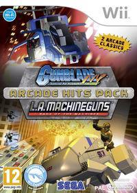 Portada oficial de Gunblade NY & LA Machineguns Arcade Hits Pack para Wii