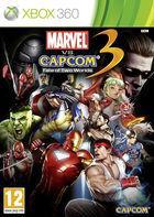 Portada oficial de Marvel vs. Capcom 3 para Xbox 360