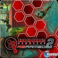 Portada oficial de Bionic Commando Rearmed 2 PSN para PS3