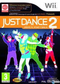 Portada oficial de Just Dance 2 para Wii