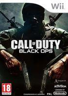 Portada oficial de de Call of Duty: Black Ops para Wii