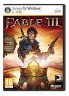 Portada oficial de Fable III para PC