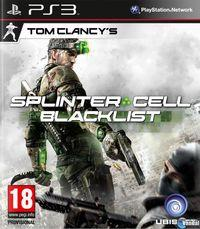 Portada oficial de Splinter Cell: Blacklist para PS3