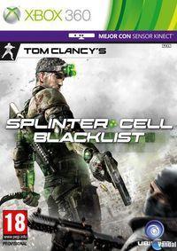Portada oficial de Splinter Cell: Blacklist para Xbox 360