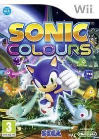 Portada oficial de Sonic Colours para Wii