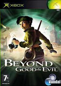 Portada oficial de Beyond Good & Evil para Xbox