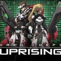 Portada oficial de Hard Corps: Uprising PSN para PS3