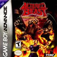 Portada oficial de Altered Beast para Game Boy Advance