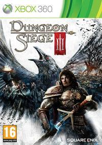 Portada oficial de Dungeon Siege III para Xbox 360
